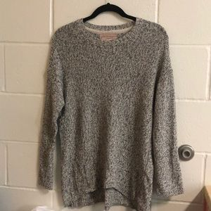 Philosophy woman's grey sweater